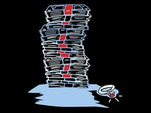 stack of money illustration