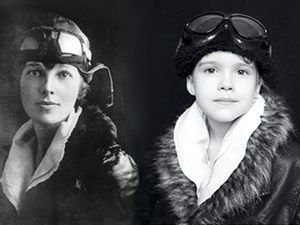 amelia earhart little girl