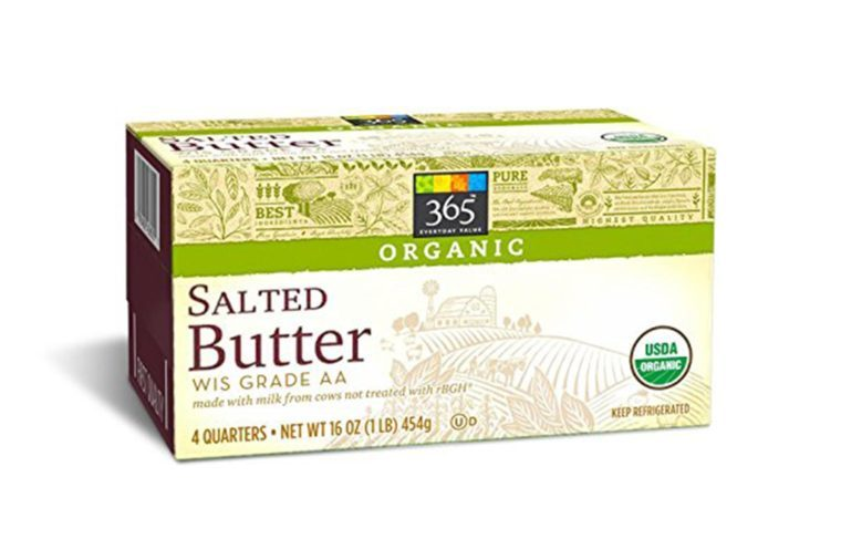 365 Everyday Value, Organic Butter Salted, 1 lb