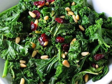 Eat more greens and reds.