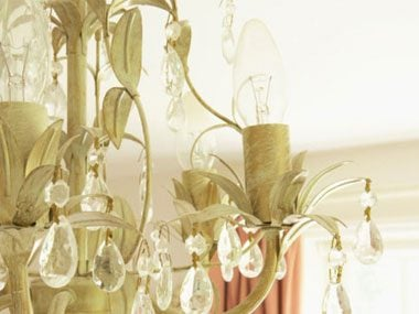 spring-cleaning-chandelier-lights