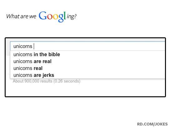 funny google searches unicorns