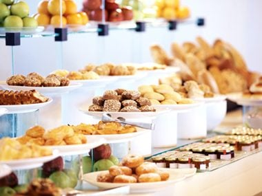 Start at the healthy end of the breakfast buffet