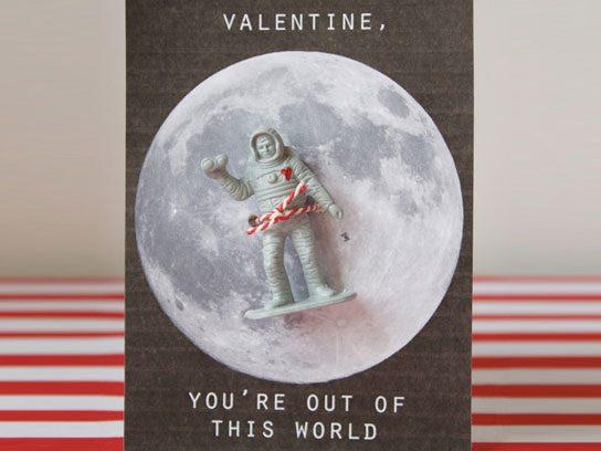 3-D Astronaut Cards