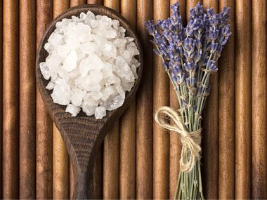 Take a hot bath with Epsom salts.