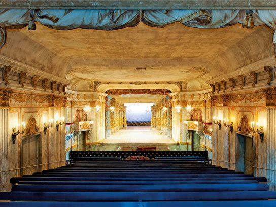 Slotts-Teater in Drottningholm, Sweden