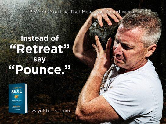 "Instead of ""retreat"""
