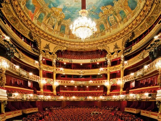 Theatre Royal de la Monnaie in Brussels, Belgium