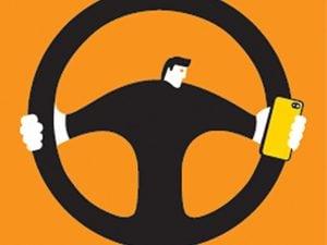 steering wheel phone