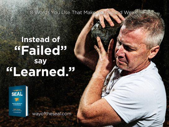 """Instead of """"failed"""""""