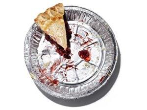 empty pie pan