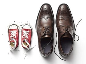 baby shoes adult shoes