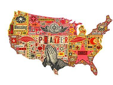 america prays map