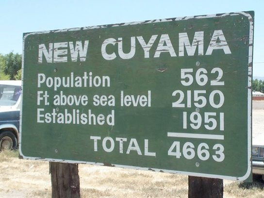 funny signs New Cuyama