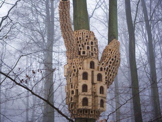 Mussolini Birdhouse