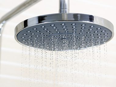Use a low-flow showerhead