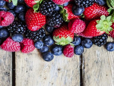 Purple and red foods prevent diabetes.