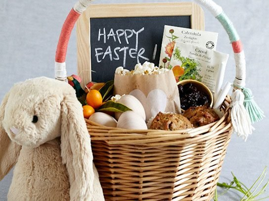 15 easter basket ideas that are easy fun creative readers digest breakfast time negle Image collections