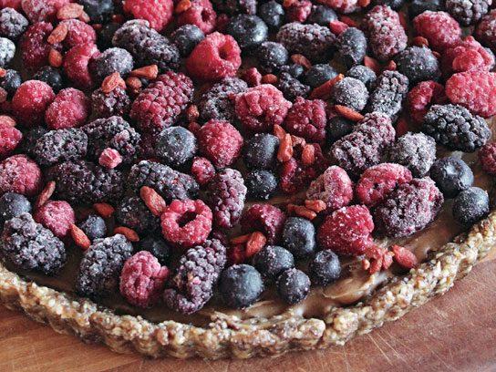 vegan desserts fruit tart