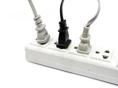 Unplug an appliance