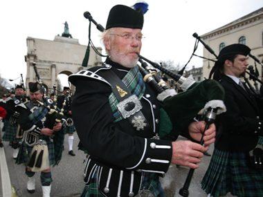 St. Patrick's Day Munich