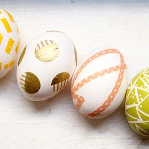 unique egg ideas tape designs