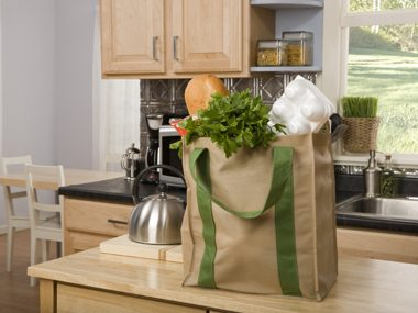 Buy and use re-useable grocery bags