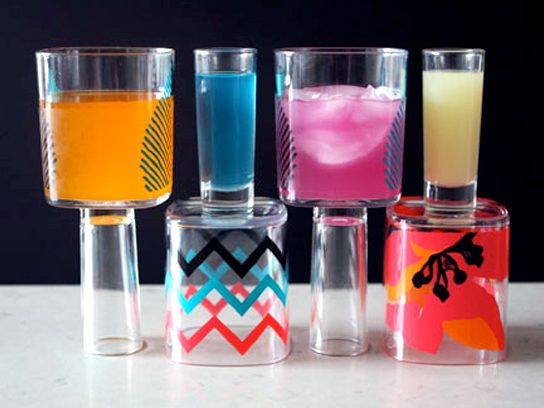 Wine-Shot Glasses