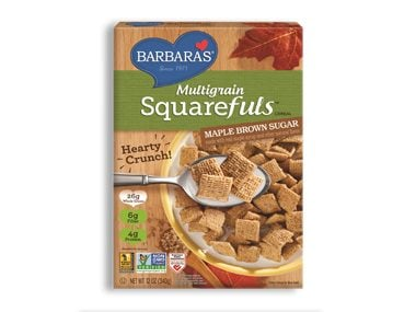 Barbara's Multigrain Squarefuls in Maple Brown Sugar