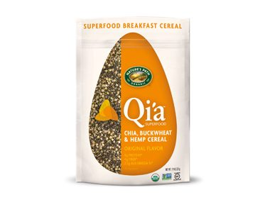 Natures Path Q'ia Superfood Chia, Buckwheat & Hemp Cereal, Original Flavor