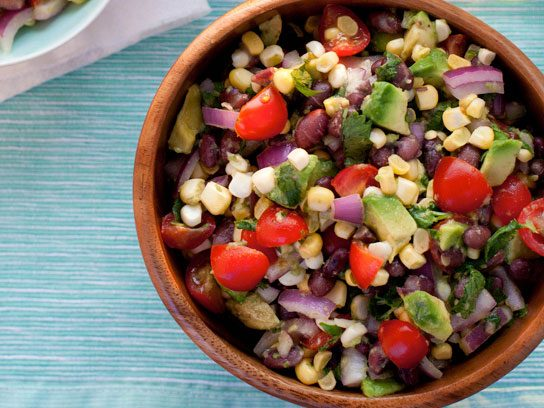 Black Bean, Corn, and Avocado Salad Recipe