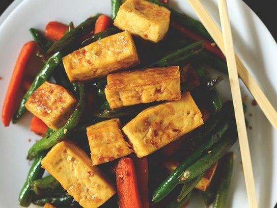 Tofu That Tastes Good Stir Fry
