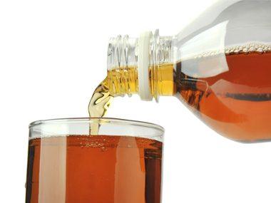bottled ice tea
