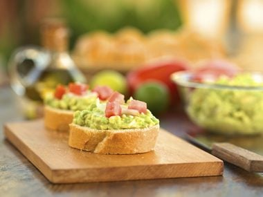 Avocado keeps blood sugar steady.