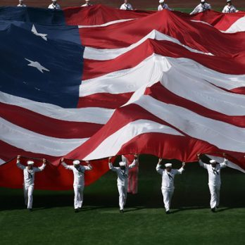 6 Moments When Our Flag Was Larger Than Life