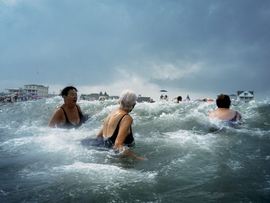 A Salty Swim, New Jersey, by Amy Toensing