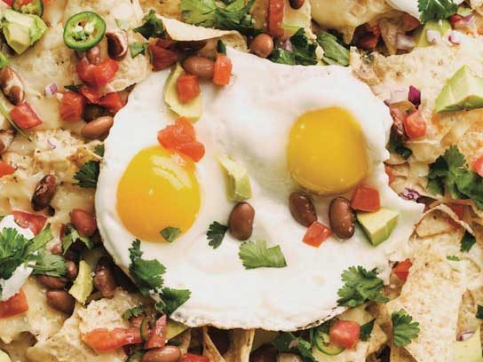 Nachos with Eggs