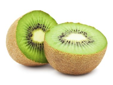 Slice two kiwis into your morning smoothie