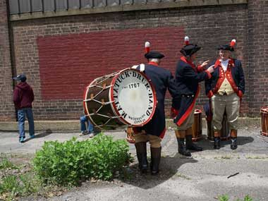 The oldest fife-and-drum corps