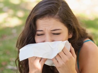 allergies sneezing