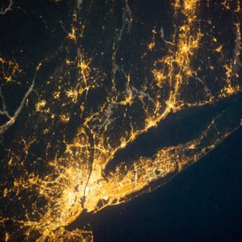 9 Incredible Pictures of City Lights From Space