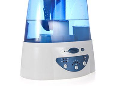 Use a humidifier at night