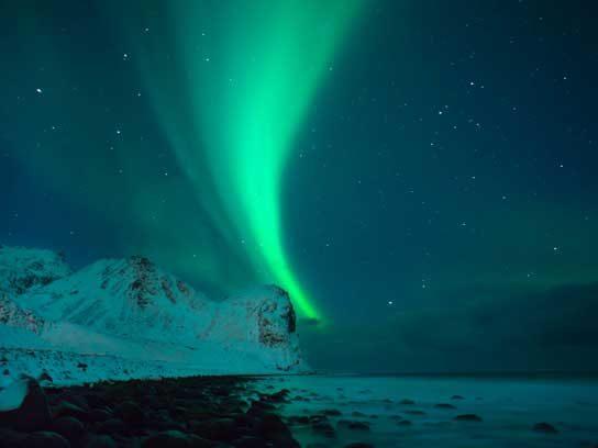 sky lights norway