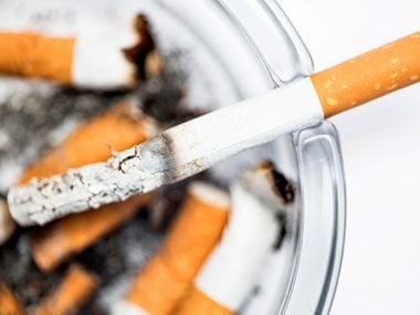 Stop smoking cigarettes. Really.