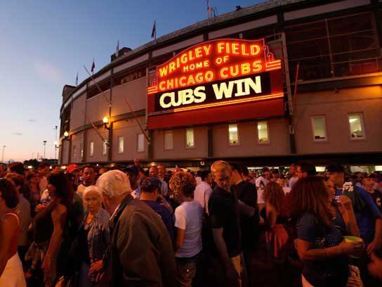 Oldest baseball stadium in the National League celebrates 100.
