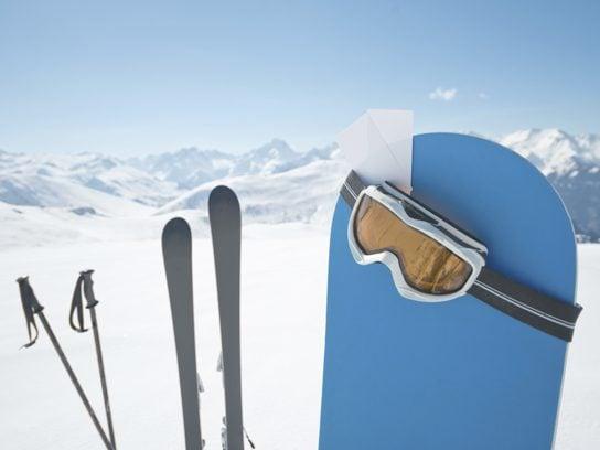 garage sale snowboard