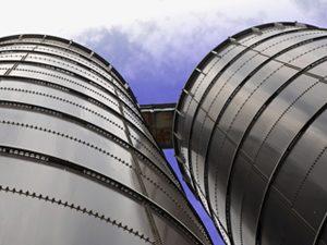 silo close up