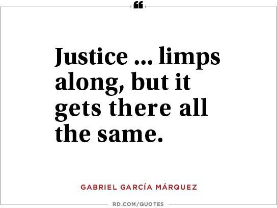 Justice ... limps along,