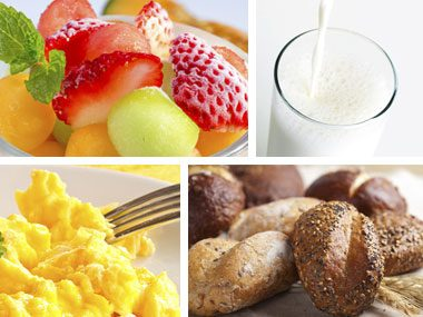 For Most People A Healthy Breakfast Recipe Has Three Components