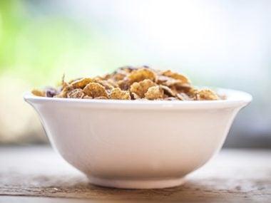 Low- or no-fiber cereals